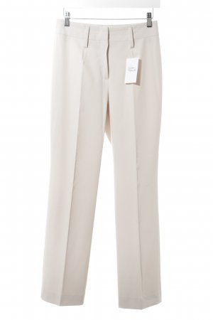 Orwell Stoffhose creme Business-Look