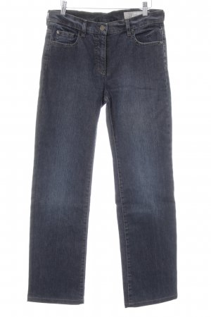 Orwell Straight Leg Jeans dark blue jeans look