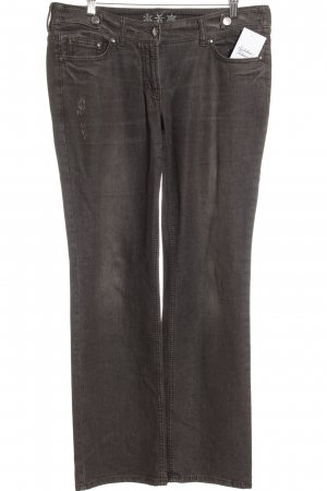 Orwell Straight-Leg Jeans dunkelbraun Casual-Look