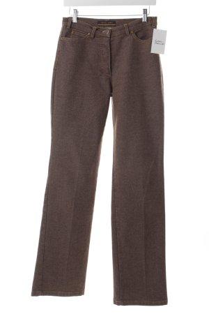 Orwell Straight-Leg Jeans hellbraun Casual-Look