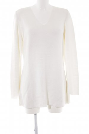 Orwell V-Ausschnitt-Pullover creme Casual-Look