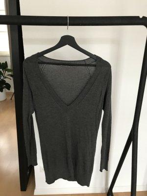 ORWELL V-Ausschnitt-Pullover, oversized
