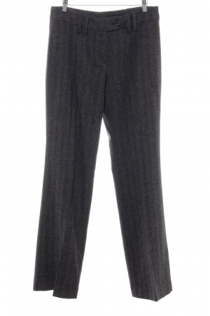Orwell Woolen Trousers black business style