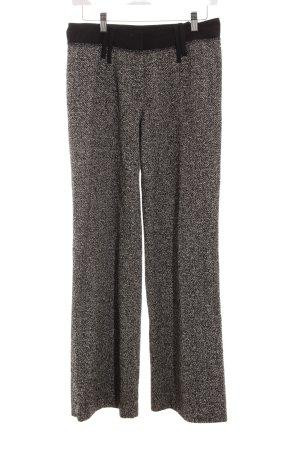 Orwell Pantalon en laine noir-blanc cassé style d'affaires
