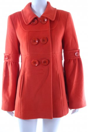 Orwell Wolljacke orange