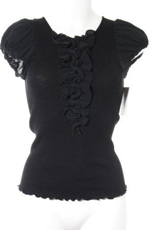 Oscalito T-shirt nero stile semplice