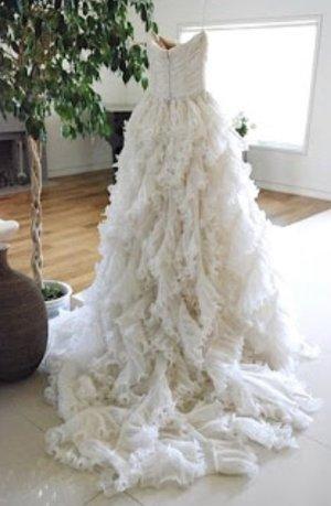 Oscar de la renta Vestido de novia blanco puro
