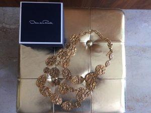 Oscar de la renta Necklace gold-colored