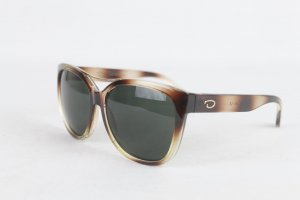 Oscar de la renta Sunglasses brown-cream