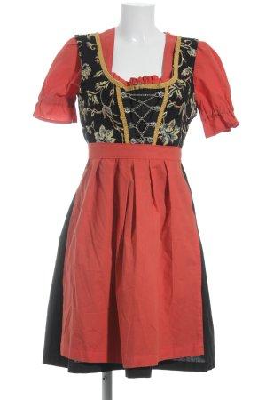 Oscartrachten Vestido Dirndl estampado floral estilo clásico