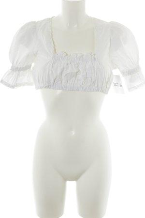Oscartrachten Folkloristische blouse wit casual uitstraling