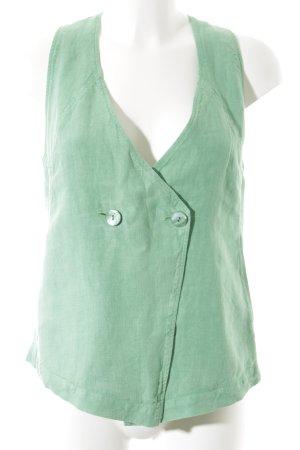 Oska Gilet de costume vert style décontracté