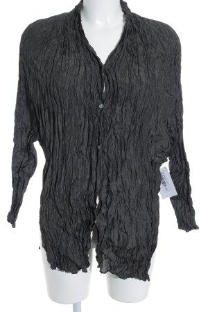 Oska Langarm-Bluse anthrazit extravaganter Stil
