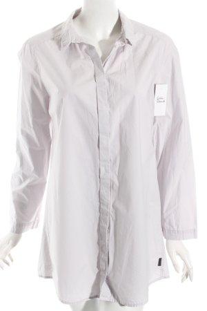 Oska Long-Bluse blasslila klassischer Stil