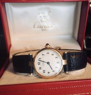OSTER-SALE -10%! Goldene Cartier Vintage Uhr