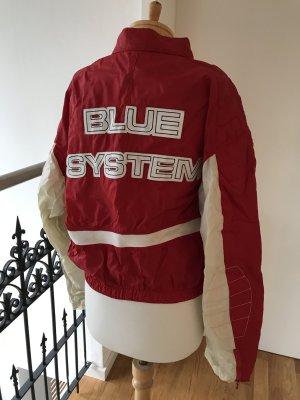 * NEU!!! * Coole leichte Jacke * von Jet Set / Blue System * Vintage * Bomberjacke * Blouson * Bikerstyle * Oversized * Größe L * NEU!!!