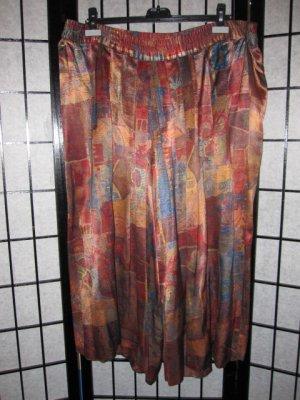 Falda pantalón multicolor Viscosa