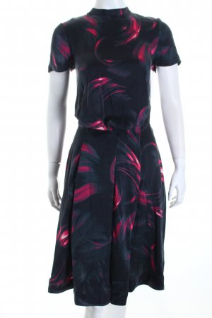 & other stories A-Linien Kleid abstraktes Muster klassischer Stil