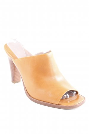 & other stories Heel Pantolettes cognac-coloured-brown casual look