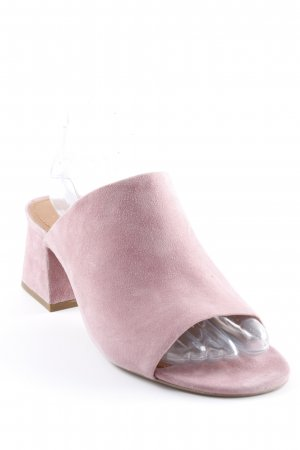 & other stories Heel Pantolettes pink casual look