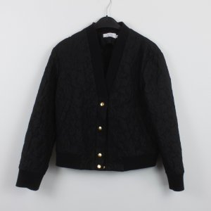 & other stories Blouson nero Tessuto misto