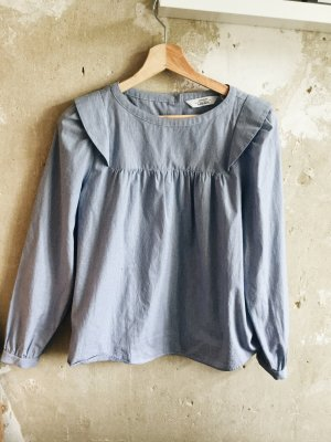 & other stories Bluse gestreift mit Volants