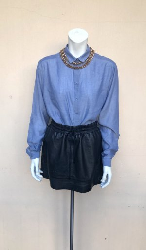 & other stories Blusa-camisa azul celeste lyocell