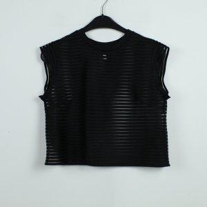 & other stories Blouse transparente noir polyester