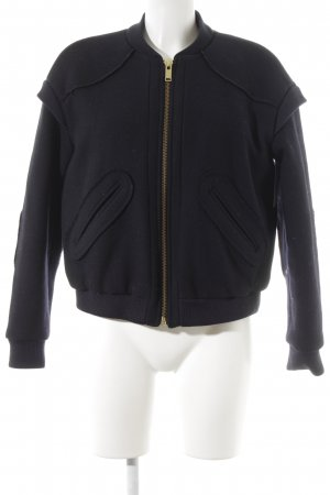 & other stories Bomber Jacket dark blue casual look