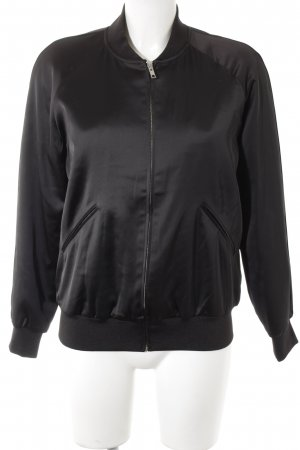 & other stories Bomberjacke schwarz Casual-Look