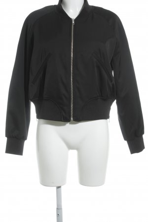 & other stories Blouson aviateur noir style universitaire