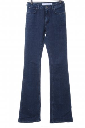 & other stories Boot Cut Jeans dunkelblau Casual-Look