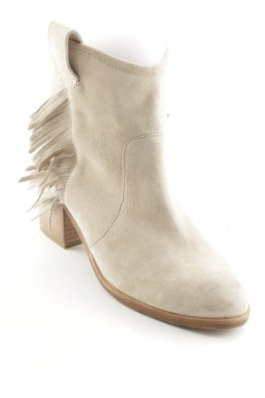 & other stories Botines beige claro estilo country