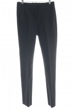 & other stories Bundfaltenhose schwarz Business-Look