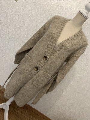 & other stories Cardigan in maglia marrone-grigio