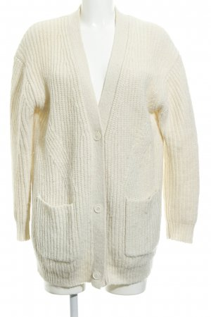 & other stories Cardigan creme Zopfmuster Casual-Look