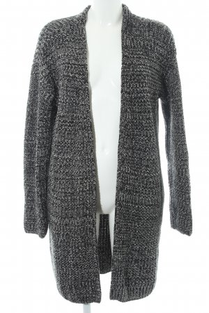 & other stories Cardigan schwarz-hellgrau meliert Casual-Look