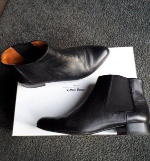 & Other Stories Chelsea Boots Schwarz 36