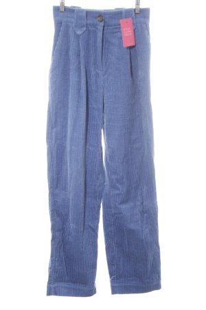 & other stories Pantalone di velluto a coste azzurro stile da moda di strada