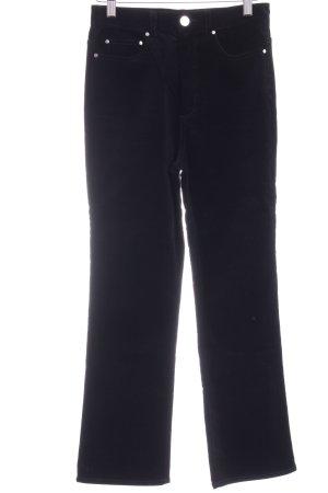 & other stories Pantalone di velluto a coste nero stile casual