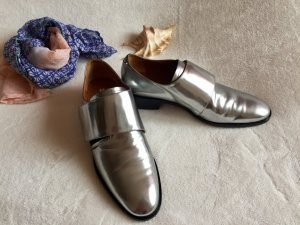 & other stories Damen Silber Leder Schuhe Oxfords 39