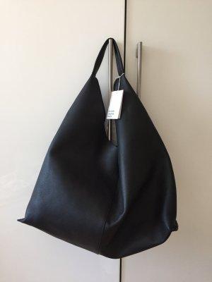 & other stories Sac hobo noir cuir