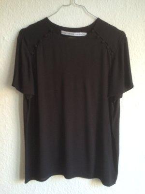 & OTHER STORIES elegantes, schwarzes Shirt mit Knopfleisten