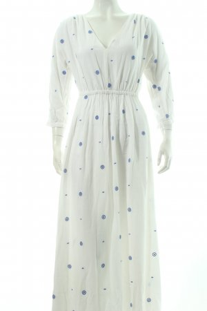 & other stories Empire Dress white-cornflower blue