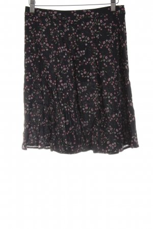 & other stories Godet Skirt flower pattern casual look