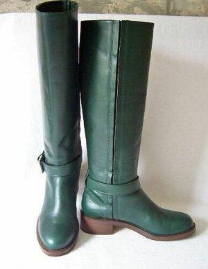 """""""& OTHER STORIES"""" Gr.38 Stiefel/Stiefeletten Leder grün ; TOP-Zustand!!!"""