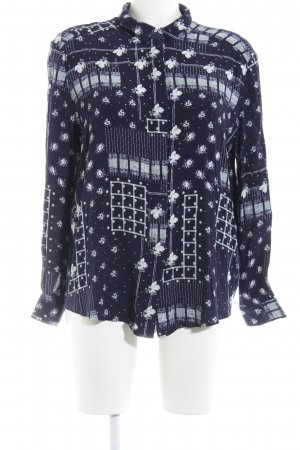 & other stories Hemd-Bluse Blumenmuster Casual-Look