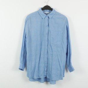 & other stories Blouse-chemisier bleu pâle-bleu clair tissu mixte