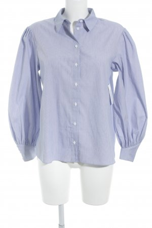& other stories Shirt Blouse white-blue striped pattern street-fashion look