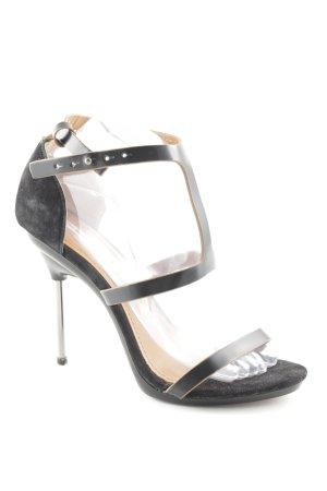 & other stories High Heel Sandaletten schwarz Elegant